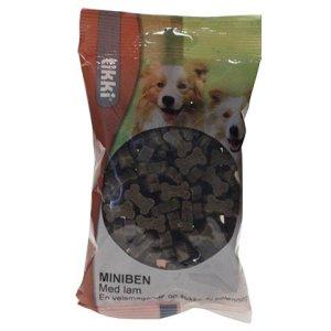 Tikki Hunde Snack Godbidder Miniben med Lam - 200g