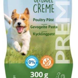 Trixie Premio Hunde Snack Fjerkræ Paté - 300g - Sukkerfri - Glutenfri - XXL