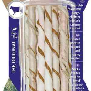 8in1 Delights Twisted Sticks beef 10stk