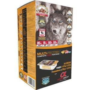 AlphaSpirit MULTI Komplet Hundefoder - Flere Størrelser - Semi Fugtigt - 85% Kød - Allergivenligt - Uden Korn og Tilsætningsstoffer