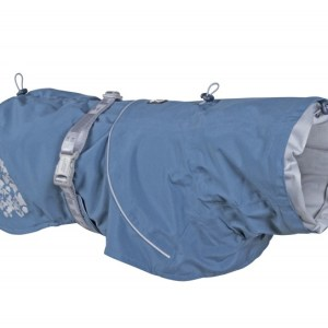 Hurtta Monsoon Regnfrakke Bilberry Blue 35cm