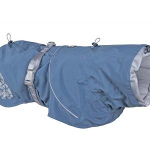 Hurtta Monsoon Regnfrakke Bilberry Blue 50cm