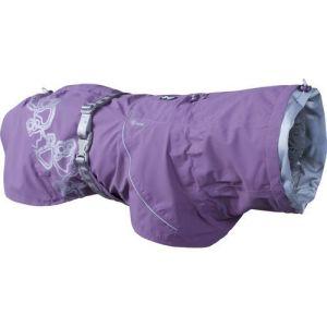 Hurtta regnjakke Drizzle Coat currant lilla 50cm