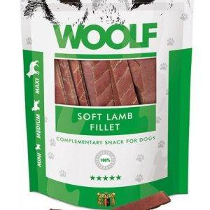 Woolf Hunde Snack Godbidder - Med Blød Lamme Filet - 100g - 90% Kød - - - -