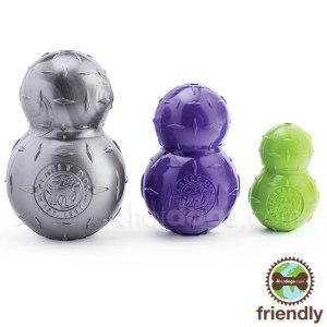 Aktivitetsbold med mint duft-Lime-7,5 cm. høj