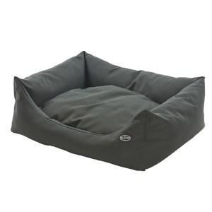 BUSTER Sofa Hundeseng i mange farver-Beluga Green-L