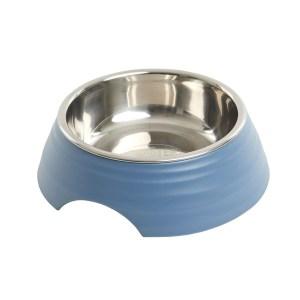 Buster frosted ripple madskål, blå-S