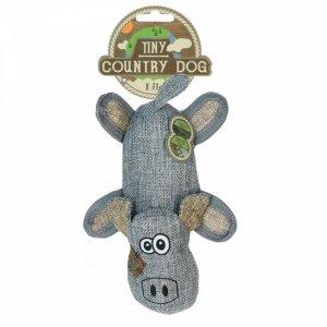 Country Dog Tiny Lilo Hundelegetøjs Bamse - Genbrugsplast - 19cm