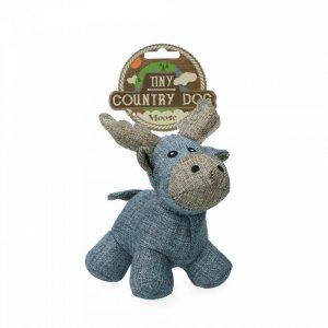Country Dog Tiny Moose Hundelegetøjs Bamse - Genbrugsplast - 16cm