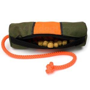"""Dummy """"Snack""""-Orange/grøn-S"""
