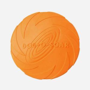 Frisbee legetøj til hvalpe, små og store hunde i gummi