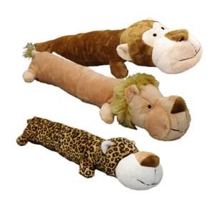 Hundelegetøj vilde plys med piv -Løve