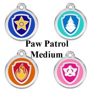 Hundetegn Paw patrol str. M-Marshall