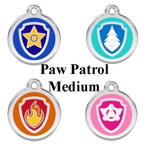 Hundetegn Paw patrol str. M-Skye