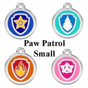 Hundetegn Paw patrol str. small-Skye
