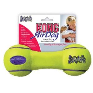 KONG AirDog Squeaker Dumbbell tennisbold-Large