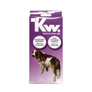 KW Løbetidsbukser med 5 stk. indlæg-Str. 1