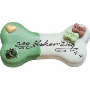 LoloPets Hunde Snack Fødselsdags Kage - (JEG ELSKER DIG)