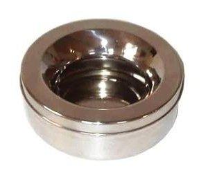 Non Spild Hundeskål i Metal - 1,2l