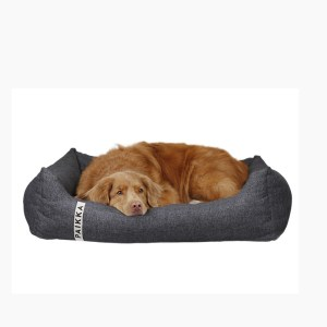 Paikka ortopædisk hundeseng mørkegrå.-S