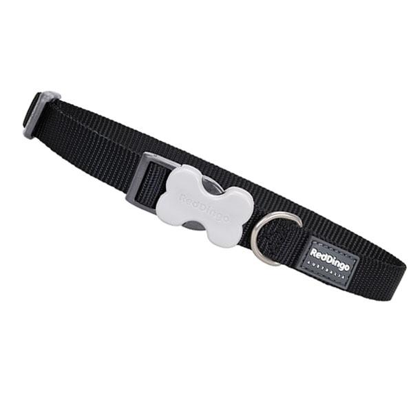 Reddingo Hundehalsbånd sort-XS