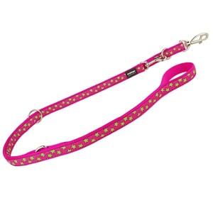 Reddingo dressurline Pink med lime stjerner-1,5 cm