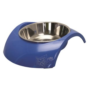 Rogz Bowl Luna, Blå-700 ml