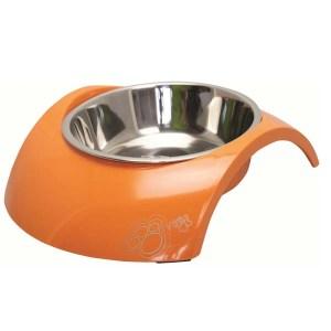 Rogz Bowl Luna, Orange-350 ml