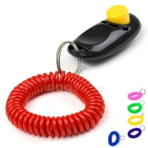Spiralarmbånd til klikker, nøgle m.m.-Pink
