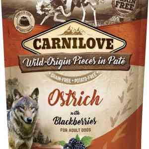 Carnilove Pouch Pate Ostrich With Blackberries - Kornfri, 300 g