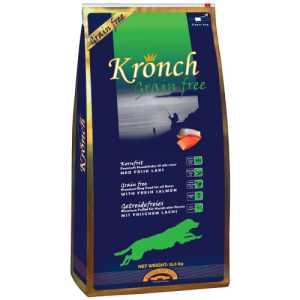 Kronch hundefoder - Grain free - Laks