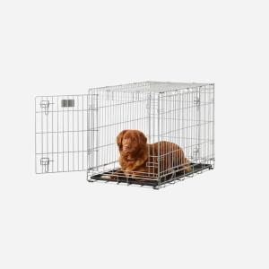 Savic Hundebur til mellemstore hunde 91 + 107 cm