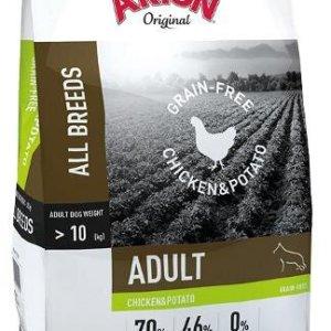 Arion Kornfrit Hundefoder - Med Kylling og Kartoffel - 12kg