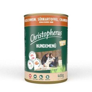 Christopherus dåsefoder Vildsvin 400g