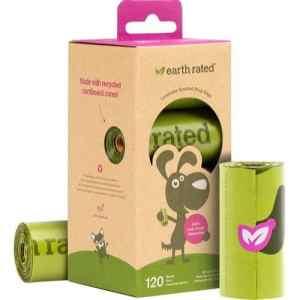 Eco-friendly lavendel høm høm poser 120stk
