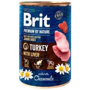 Brit Premium by Nature vådfoder - Kalkun - 6 stk.