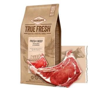 Carnilove True Fresh hundefoder, m/oksekød, 4 Kg
