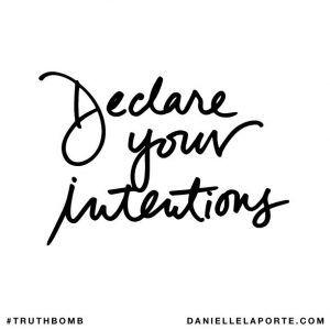 Setting Intentions Instead of Affirmations for the New Year
