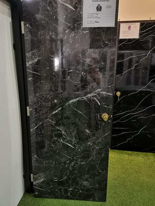 Call 96177025 to buy Black Marble Design Door and Fire rated HDB door Singapore sales