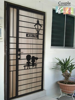 Call 96177025 to buy Best Kato Simplify HDB Gate and Fire rated HDB door Singapore sales