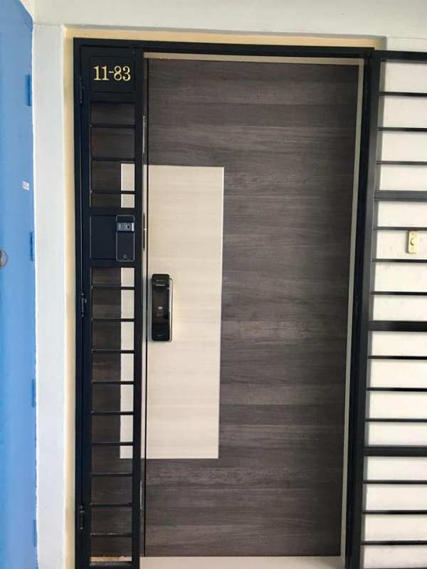 Call 96177025 to buy Laminate Design Door and Fire rated HDB door Singapore sales