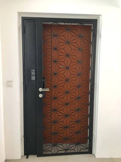 Call 96177025 to buy Retro Star HDB Gate and Fire rated HDB door Singapore sales