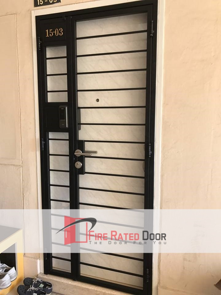 Call 96177025 to buy Best Budget Design Mild Steel Gate Singapore sales