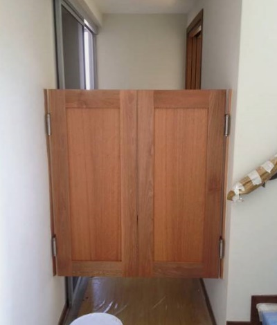 Naytoh Timber Cow Boy Door