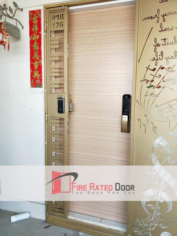 Call 96177025 to buy High selling Veneer HDB Main Door and Laminate HDB main door sales in Singapore