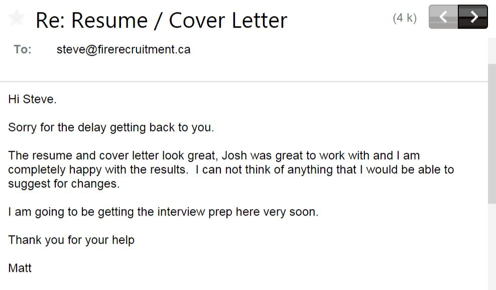 Firefighter Resume  Cover Letter  FireRecruitmentca
