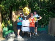Shrek with Jenny and the Kids