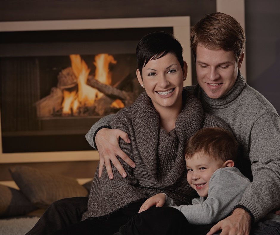 Keep Your Family Safe, Healthy and Happy with a fireplace or wood stove