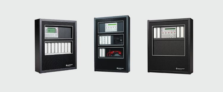 Distribuidores paneles de alarma contra incendios