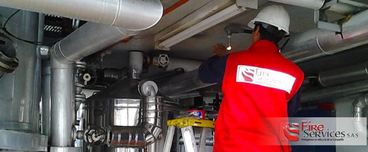 Empresa de inspección de equipos contra incendio